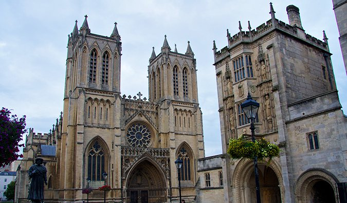 Bristol Cathedral; Photo by Mario Sánchez Prada (flickr:@mariosp)