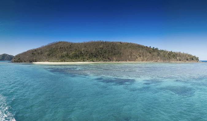 looking at the stunning Yasawa Islands in Fiji