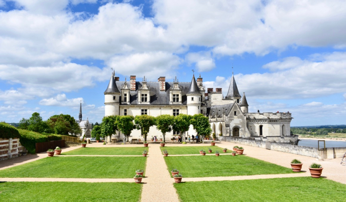 Amboise chateau in France