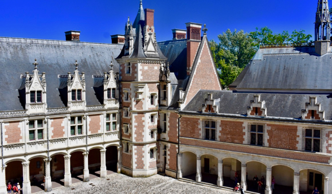 A chateau in France
