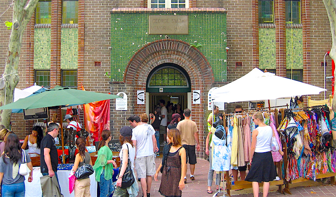 Markets in Sydney are a great way to save money