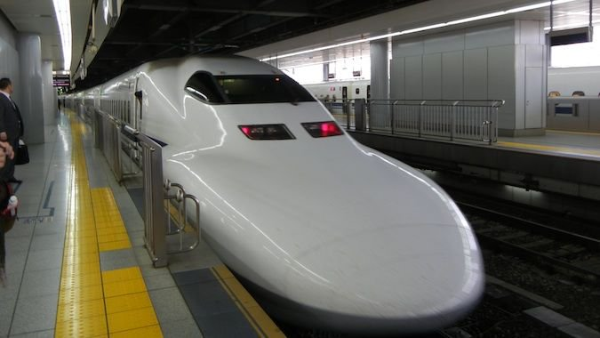 fast bullet trains in japan