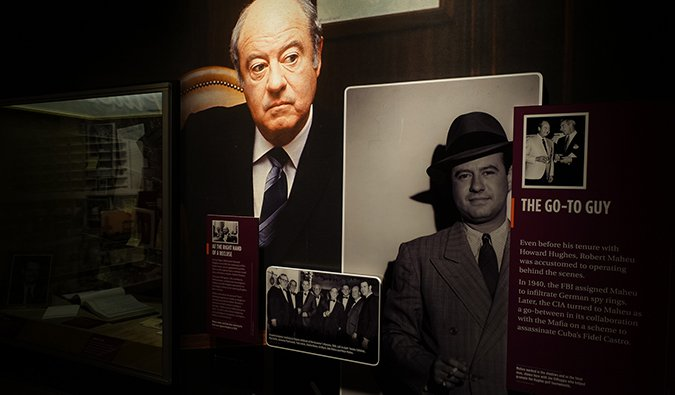 A sneak peak inside the Mob Museum downtown Las Vegas
