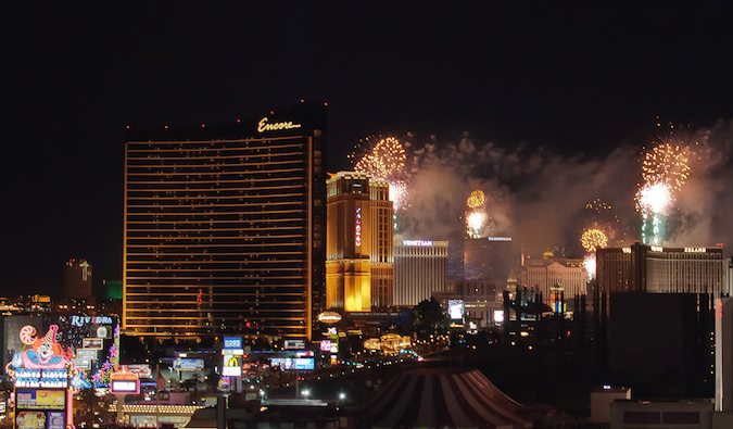Las Vegas during New Year%image_alt%27s