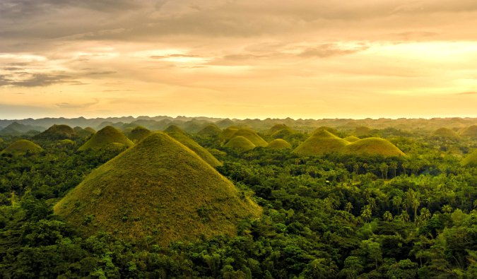 mounds in the Philippines