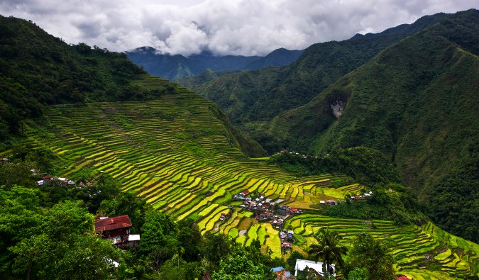 the countryside in the Philippines