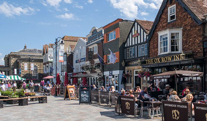 The Market in Salisbury, England; Photo by Charles D P Miller (flickr: @cdpm)