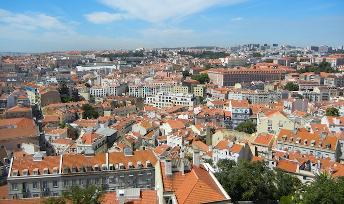 the cityscape of lisbon, portugal