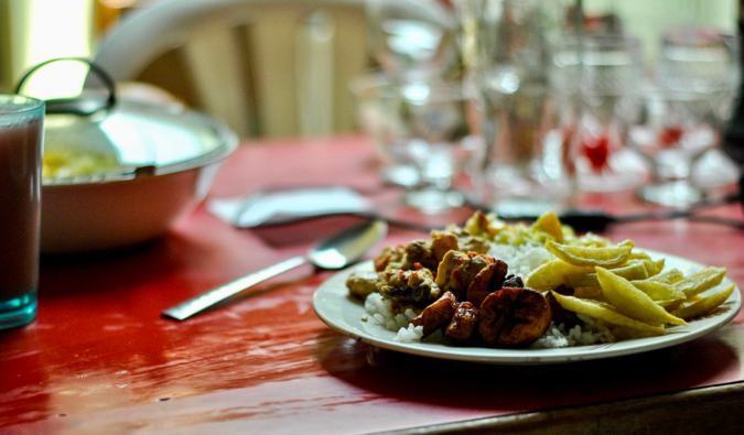 A plateo of traditional food in Medellin%image_alt%27 Colombia