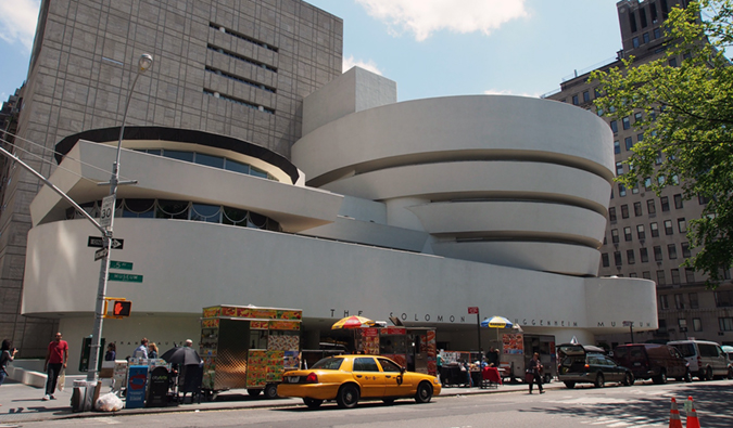 the Guggenheim, NYC