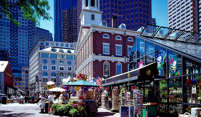 centro de Boston Beantown