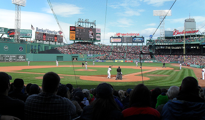 Parque Fenway de Boston Beantown